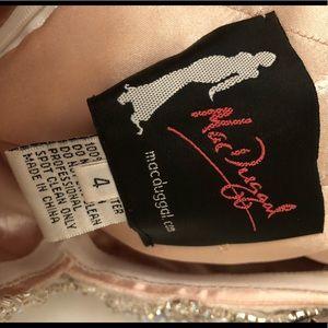 Mac Duggal Dresses - Custom MacDuggal Champagne Gown